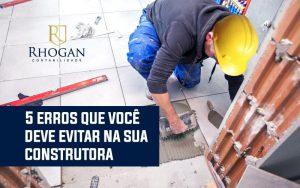 administrar uma construtora